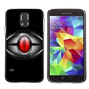 Be Good Phone Accessory // Dura Cáscara cubierta Protectora Caso Carcasa Funda de Protección para Samsung Galaxy S5 SM-G900 // Red Eye