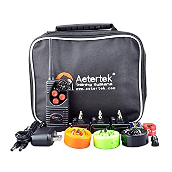 Image of Pet Supplies Aetertek Classic 216 Dog Pet E-Collar Waterproof Dog Shock Collar Remote Dog Training System Multi-Functional for Small Medium or Large Dogs