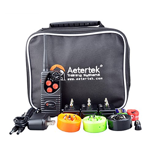 Aetertek-216D-Electric-Pet-Dog-Remote-Shock-Training-Collar-No-Barking-Submersible-Rechargeable-E-collar-For-three-dogs
