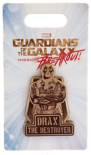 (Disney Pin - Guardians of The Galaxy - Mission: Breakout - Drax the Destroyer)