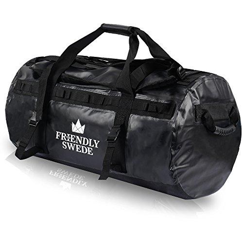 Friendly Swede Duffel Backpack Travels