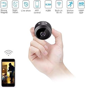 WiFi IP 1080P Mini Espia HD Camara Oculta Infra Sensor Vídeo Cámara de Seguridad
