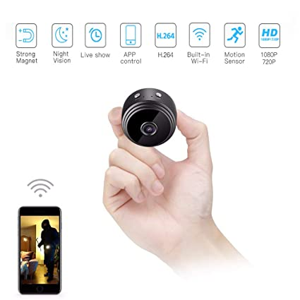 Amazon com : A9 Mini Camera Full HD 1080P IR Night Vision
