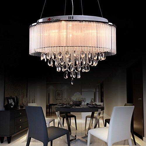 OOFAY LIGHT® G4 8 Lights Modern Crystal Chandelier, art Crystal ...