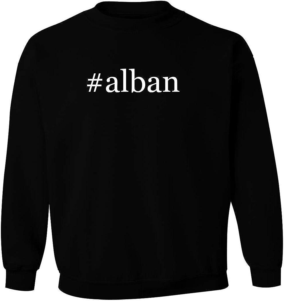 #alban - Men's Hashtag Pullover Crewneck Sweatshirt