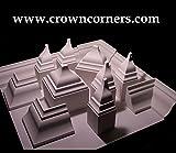 Crown Molding Corner Deco Low Profile Endcap (Right) Fits 3 - 3 5/8 Inch Crown Molding