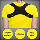 Posture Corrector For Women & Men, Effective, Comfortable, Adjustable Clavicle Support Brace-Improve Bad Posture, Shoulder Alignment, Muscle Memory, Prevent Slouching- Relief For Upper Back Pain