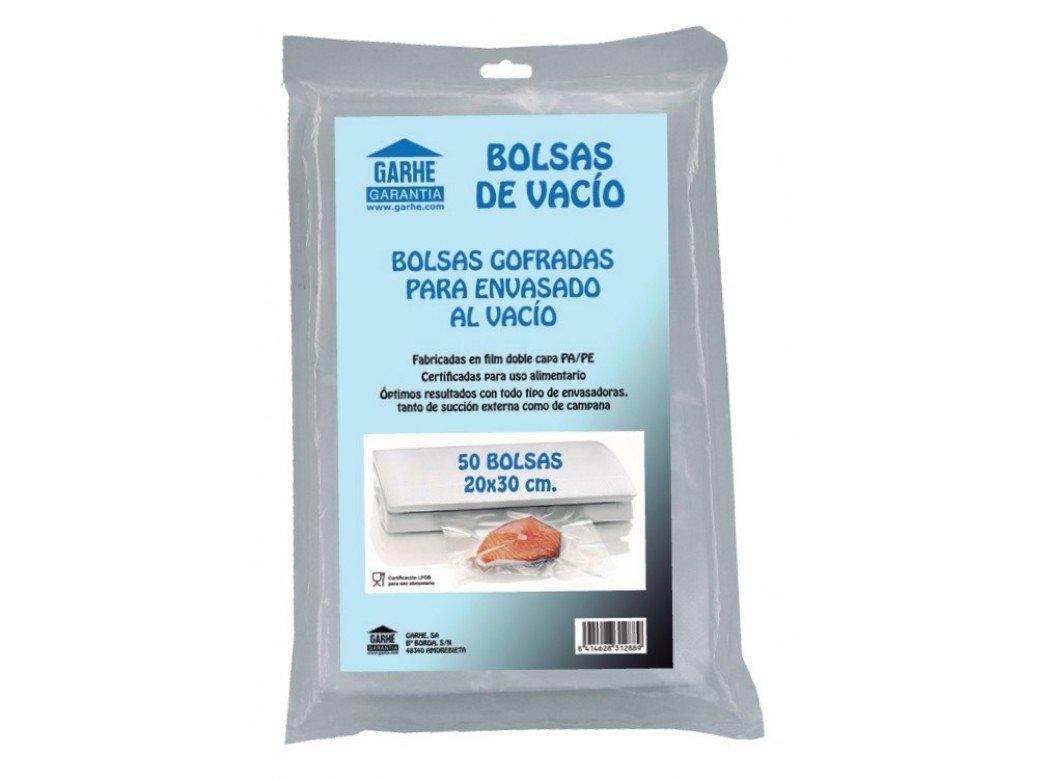 Garhe - Bolsas Vacio 20X30 (Bl-50) 31288: Amazon.es ...