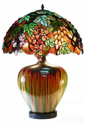 grape tiffany lamp - 7