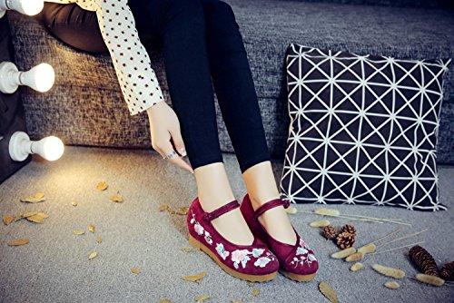 Donna Red Loafer Da Slip Studio On Sk aI7qwU