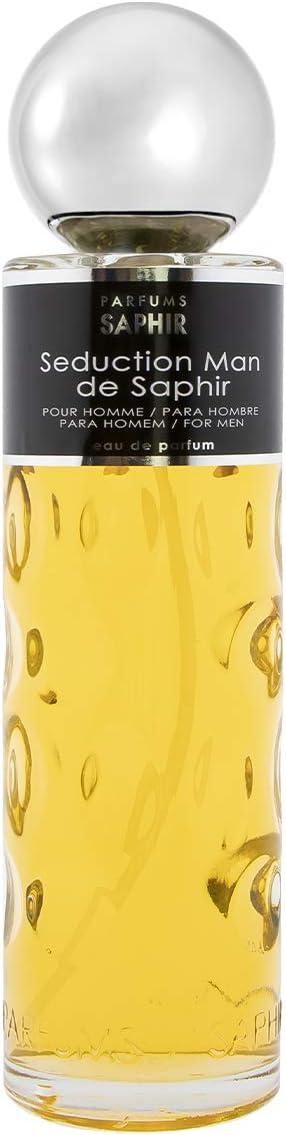 PARFUMS SAPHIR Seduction Man - Eau de Parfum con vaporizador para Hombre - 400 ml