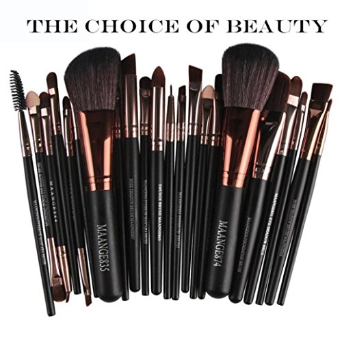 Hot Sale!!! Makeup Brush Set,Jushye 15 pcs/Sets Eye Shadow Foundation Eyebrow Lip Brush Cosmetic Makeup Brushes Tool (C)