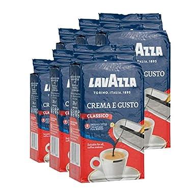 Lavazza Crema e Gusto, Café Molido, 6x 250g: Amazon.es ...