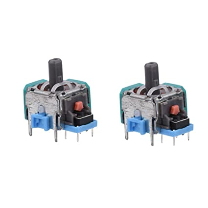 Zerone 2 Pcs Analog Stick 3D Joystick Module Replacement for PS4 Game  Controller, Xbox One