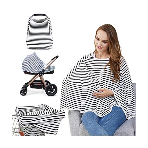 Nursing Cover Breastfeeding Scarf Baby