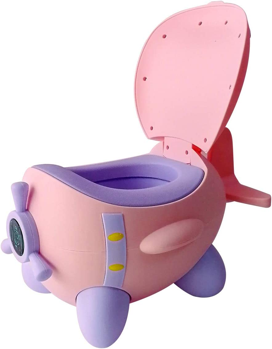 Rosado Glenmore Bebe Orinal para Infantil Ninos Water WC Bater Orinales Vater Inodoro Portatil Vasenilla