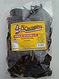 Chile Guajillo 1 pound - Mexican Guajillo Peppers - 1 Lb Dried Whole Chili Pods - Mild to Medium Heat - Sweet Spicy Tangy Fruity Pleasant Flavor -Micostenita