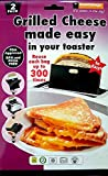 Toastabags Two Reusable Non-Stick Sandwich/Snack''In Toaster'' Grilling Bags