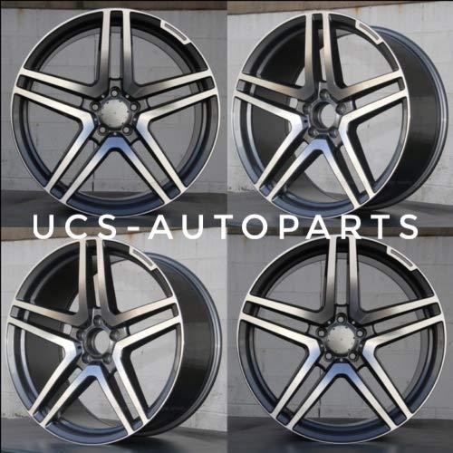 NEW 18 inches AMG S65 STYLE Wheels Rims compatible with Mercedes Benz E CLASS E320 E350 E430 E500 SET 4
