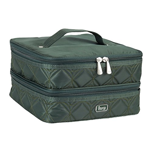 Lug Stowaway Toiletry Case, Hunter Green, One Size by Lug