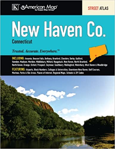 New Haven County, CT Street Atlas: Kappa Map Group: 9780762578863 ...