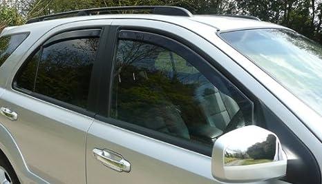 Amazon.es: heko-26138-rear trasera sólo de Deflectores de viento para Peugeot 407 4 en (Modelos Sedán de 4 puertas