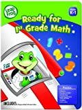 LeapFrog Ready for 1st Grade Math Workbook with 60 Pages and 60 Reward Stickers (19402)
