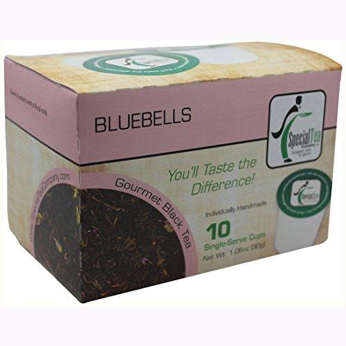 Special Tea Black Tea Single Serve Cup, Bluebells, 1.06 ()