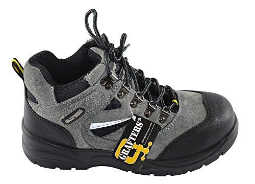 Grafters  Industrial Safety Hiking Boot, Herren Sicherheitsschuhe