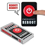 Accoutrements Emergency Reboot Button by Accoutrements