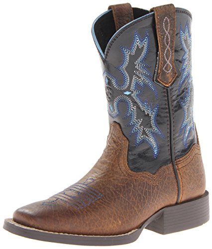 Kids' Tombstone Boot (Toddler/Little Kid/Big Kid), Earth/Black, 13.5 M US Little Kid