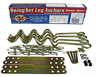 Ground Anchor Kit for Metal Frame Swing Sets Flexible Flyer New Free Shipping 19506_details_about_ground_anchor_11 by Home Comforts