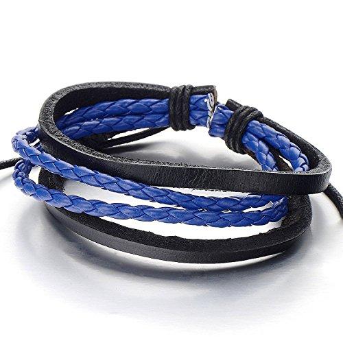 Hand made Multi strand Braided Bracelet Wristband