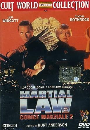 Martial Law 2 [Italia] [DVD]: Amazon.es: Jeff Wincott ...