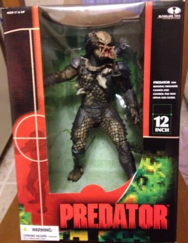 Predator 2004 McFarlane Toys 12 Inch Action Figure Boxed ...