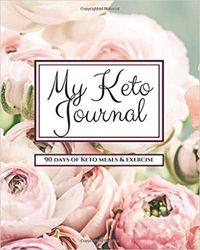 My Keto Journal 8x10 Tracker