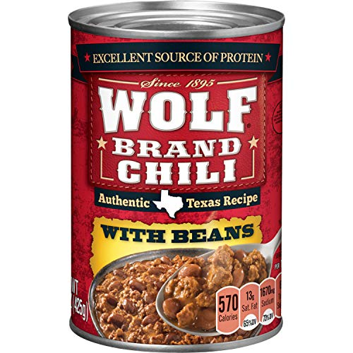 Wolf Brand Chili with Beans, 15 Ounce