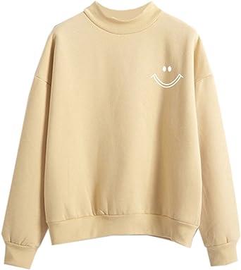 Fashiononly Sweatshirt Teen Girls Kawaii Sweater Women Cute Clothes Korean Casual At Amazon Women S Clothing Store