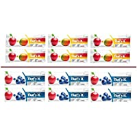 Thats it Super Variety Pack of 12, (6 Apple+Blueberry, 6 Apple+MANGO)