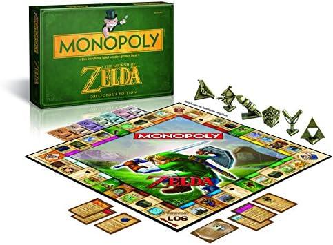 Monopoly - Juego de Mesa, Tema Legend of Zelda, de 2 a 6 Jugadores (Winning Moves 43508) (versión en alemán): Amazon.es: Juguetes y juegos