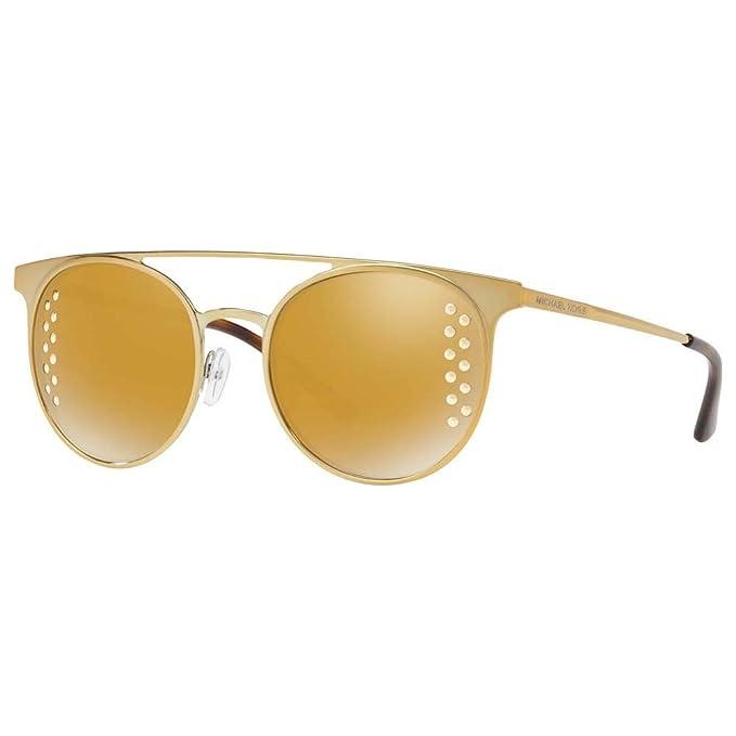 Michael Kors Grayton 11684Z, Gafas de Sol para Mujer, Dorado (Shiny Pale Gold