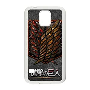 Attack On Titan New Style High Quality Comstom Protective case cover For Samsung Galaxy S5