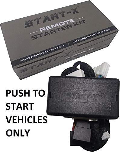 Start-X Plug N Play Remote Start Starter for Select Push to Start Toyota's   Rav4 2013-2018 Avalon 2013-2018, Camry 2012-2017, Corolla 2014-2019    Push to Start Only    Lock 3X to Remote Start