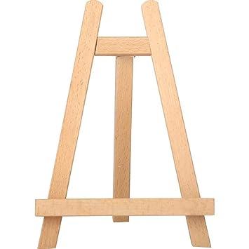Caballete de Estudio Caballete de exhibición de madera Caballete ...