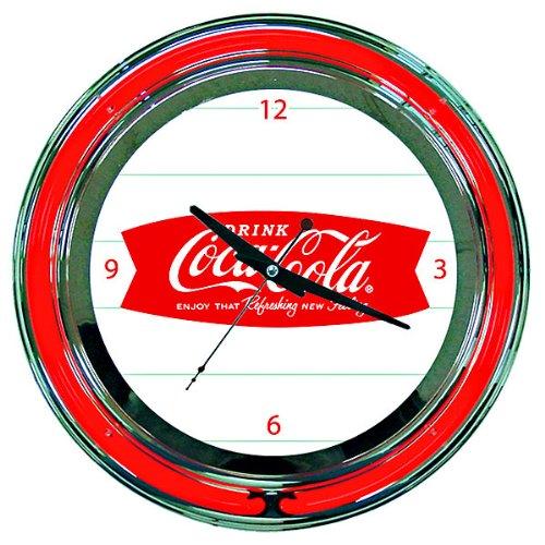 Coke Neon Clock - Coca-Cola