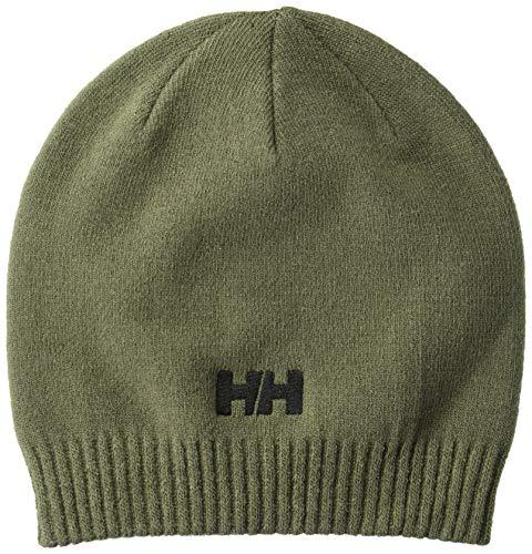 Helly Hansen Brand Beanie, Beluga, Standard