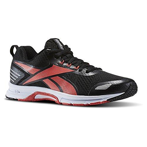 Reebok Bd4963, Zapatillas de Trail Running para Mujer Negro (Black /             Fire Coral /             White)
