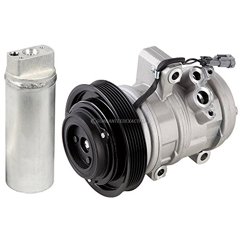 AC Compressor w/A/C Drier For Chevy Colorado GMC Canyon & Isuzu i-370 - BuyAutoParts 60-86465R2 NEW ()