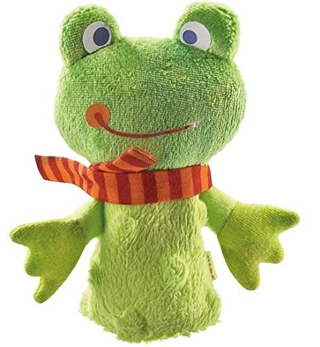 (HABA Finger Puppet Mini Frog - for Ages 18 Months and Up )