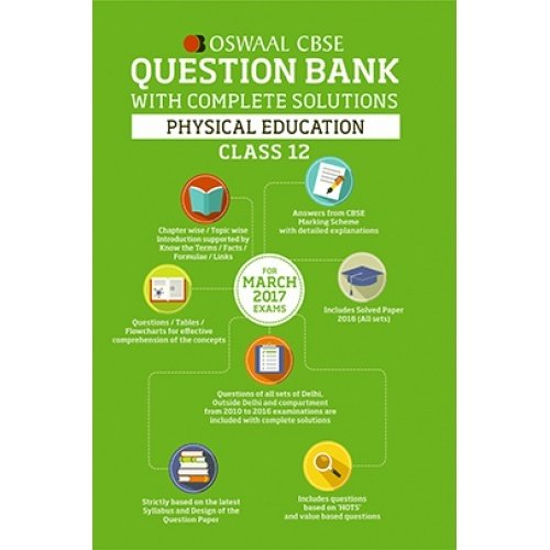 Amazon buy oswaal cbse question bank with chapter wise solutions amazon buy oswaal cbse question bank with chapter wise solutions for class 12 physical education book online at low prices in india oswaal cbse malvernweather Images